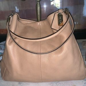 Coach Pebbled Leather Big bag
